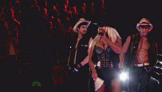 Christina v soutěži The Voice.