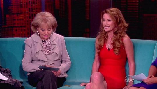 Jane Seymour v televizní show.