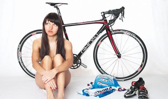 Lucie patří mezi nejkrásnější české cyklistky.