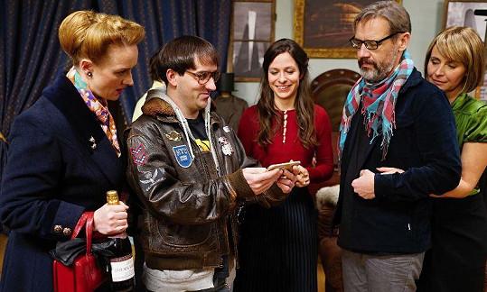 Komedie Jedině Tereza se natáčela v zimě.