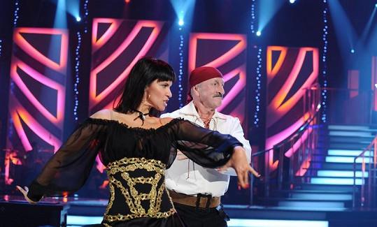 Oldřich Navrátil a Kamila Tománková ve StarDance končí. Nevyšlo jim paso doble.