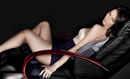 Nádherná Megan Fox pro Sharper Image.