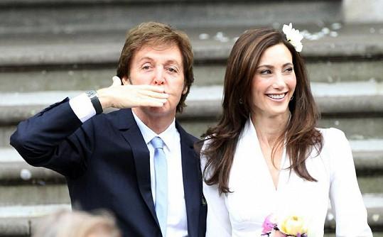 Paul McCartney a Nancy Shevell.