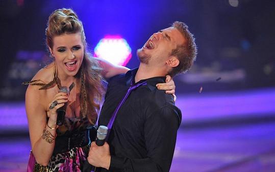 Závěrečný duet Gábiny Gunčíkové a Lukáše Adamce.