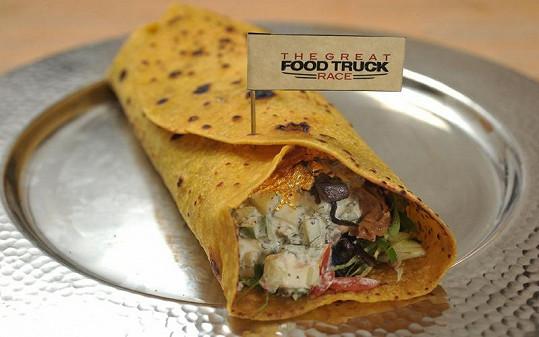 Kebab z prvotřídních surovin obsahuje dokonce i plátky jedlého zlata a platiny.