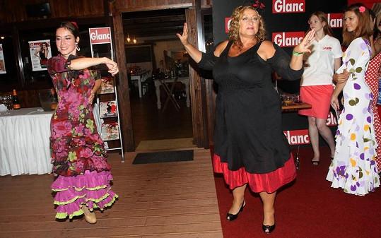 A další taneční kreace.