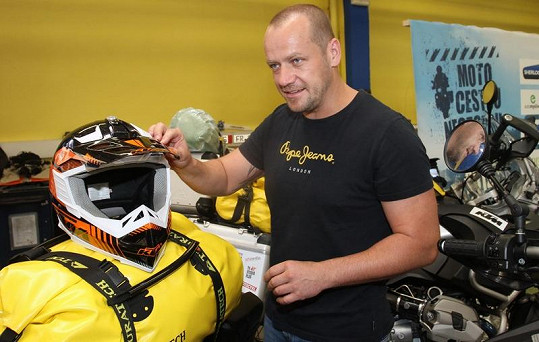 Blažek je zkušený motorkář. V minulosti ujel osm a půl tisíce kilometrů.