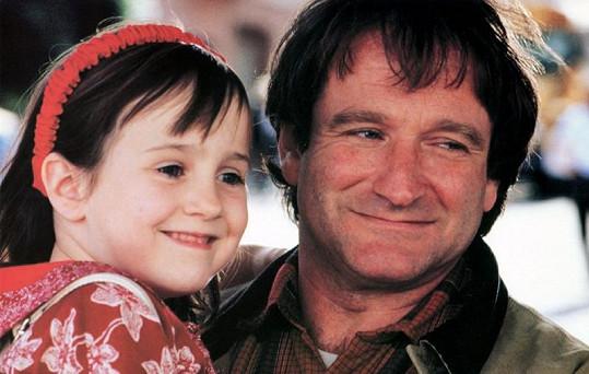 Mara si jako čtyřletá zahrála s Robinem Williamsem v Tátovi v sukni.