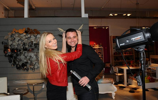Pavel Filandr obvykle s celebritami vychází skvěle. S Martinou Gavriely jsou dobří přátelé.