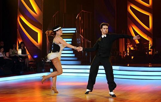 Dana Morávková při tanci.