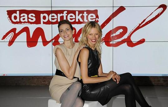 Češka Karolína Kurková a Němka Eva Padberg se snaží najít příští perfektní modelku.