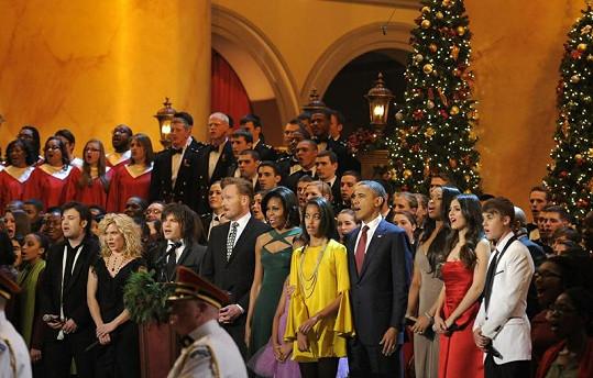 Spojené státy zachvátila vánoční atmosféra.