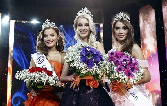 Trojice vítězek České Miss 2011