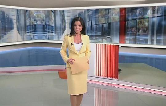 Aneta Savarová v nových Událostech.