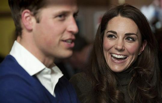 Princ William a Kate jsou krásný pár.