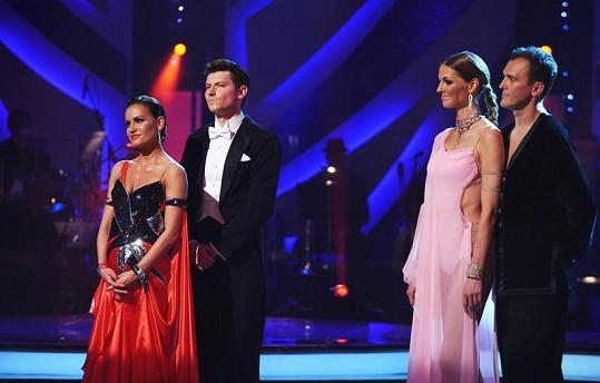 Rozhodovalo se, jestli vypadne David Švehlík a Simona Švrčková, nebo Pavlína Němcová a Jan Tománek.