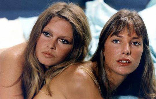 Krásná Jane s Brigitte Bardot.
