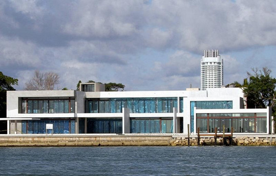 Nové sídlo Cameron Diaz a Alexe Rodrigueze v Miami.