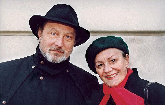 Věra Galatíková na archivním snímku s manželem Ladislavem Frejem