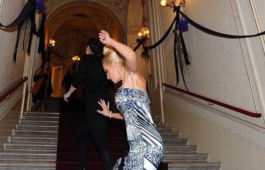Dara Rolins na Plese v Opeře
