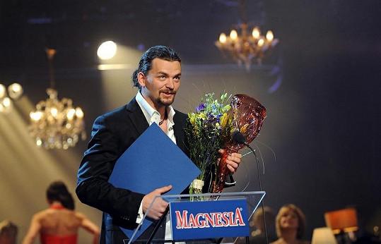 Dušan Vitázek získal už druhou cenu Thálie.