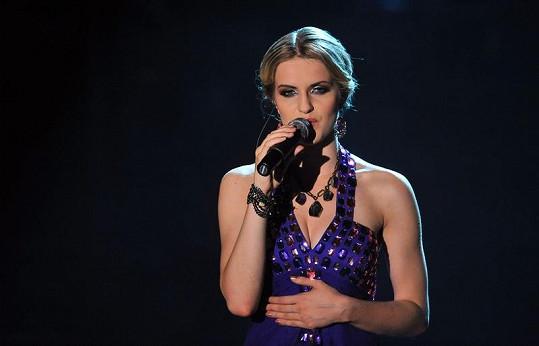 Gabriela Gunčíková je krásná, ale krásně také zpívá.