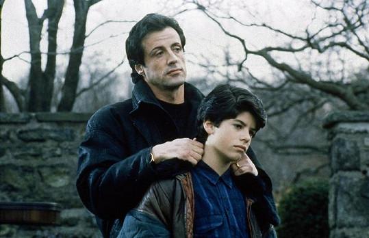 Sylvester Stallone si se synem zahrál v roce 1990 ve filmu Rocky V.