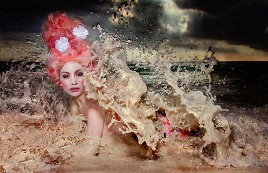 Lounová - La diosa de las olas.