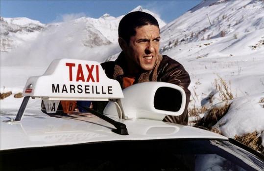 Herec Samy Naceri ve filmu Taxi.