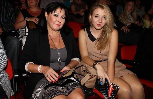 Dáda Patrasová s dcerou Aničkou.