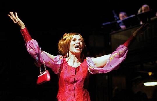 Ivana Chýlková v představení Hello Dolly!