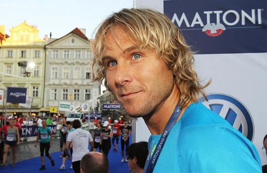 Mattoni Grand Prix si střihl i bývalý fotbalista Pavel Nedvěd.