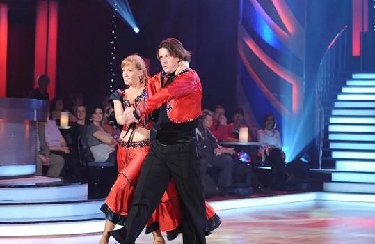 Martin Procházka a Tereza Bufková ve StarDance.