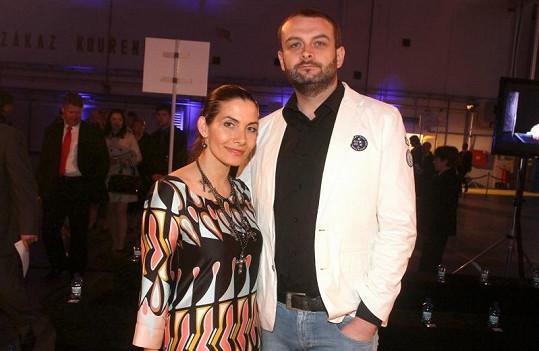 Mezi hosty byla Eva Decastelo s manželem Reném.