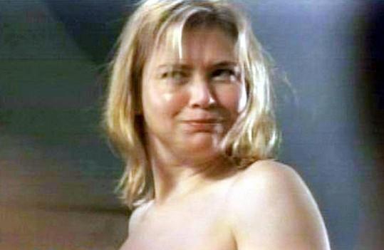 Renée jako filmová Bridget Jonesová.