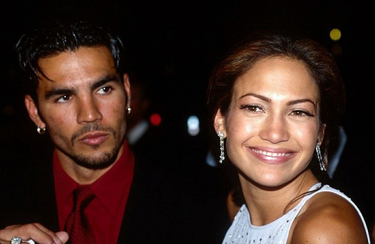 Ojani a Jennifer v době, kdy byli manželi.