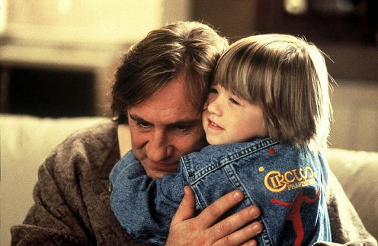 Haley a Gérard Depardieu ve filmu Přelud.