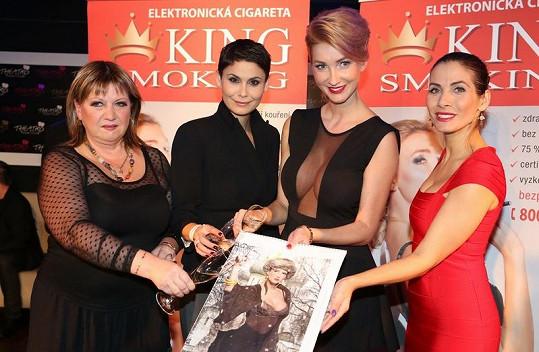 Helena Silvan, Vlaďka Erbová, Dominika Mesarošová a Eva Decastelo.