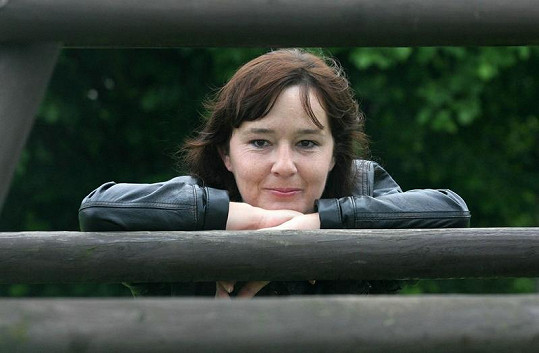 Žaneta Fuchsová jako čtyřicetiletá dáma.