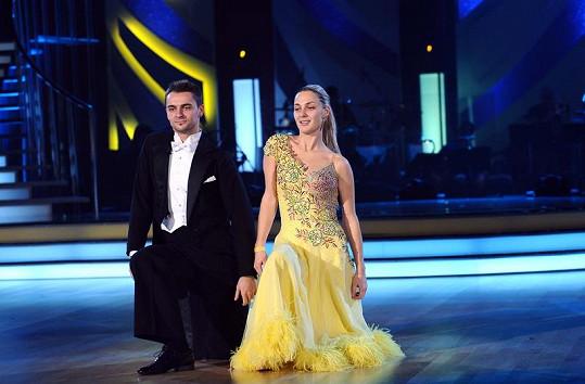 Bára Poláková musela dnes tancovat pod antibiotiky.
