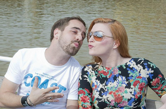 Barbora s Petrem Kutheilem