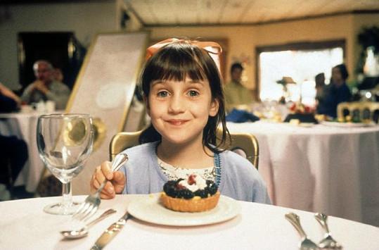 Mara Wilson jako Matilda.