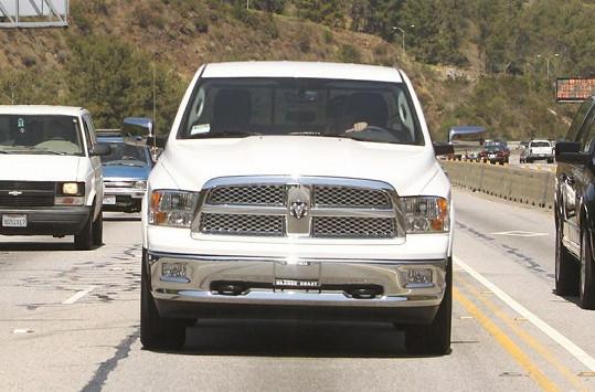 Dodge bílé barvy si Casper dlouho přál.