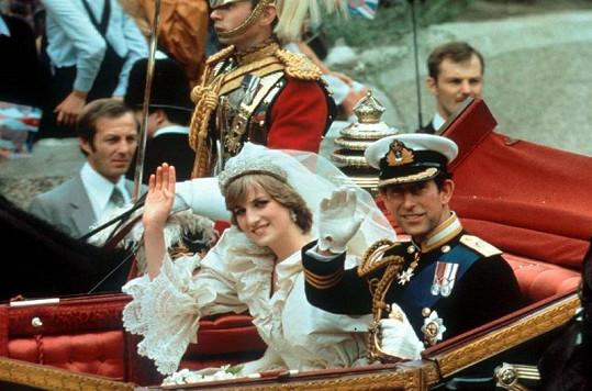 29. červenec 1981. Diana a princ Charles.