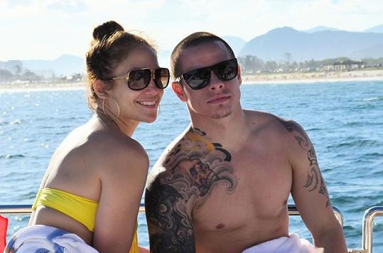 Jennifer a Casper v Riu.