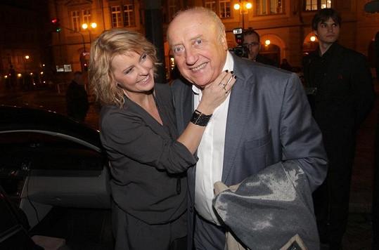 Iveta laškovala s Felixem Slováčkem, s nímž bude spolupracovat.