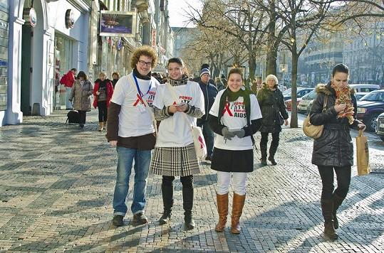 Patricie Solaříková a její seriáloví kolegové pomohli dobré věci.