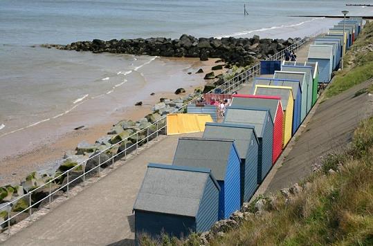 Pláž v Norfolku.