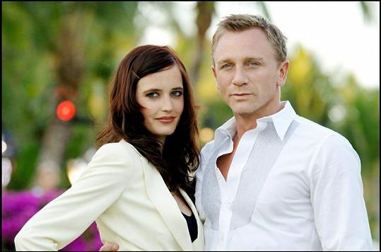 Eva a Daniel Craig.