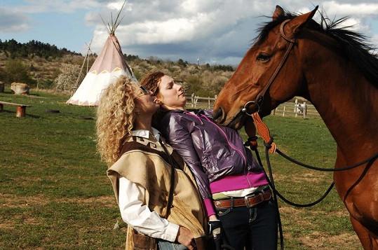 Světlana s Pepinou koním rozumějí.